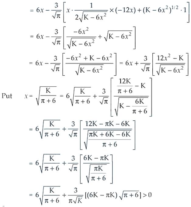 NCERT Exemplar Solutions Class 12 Mathematics Chapter 6 - 46