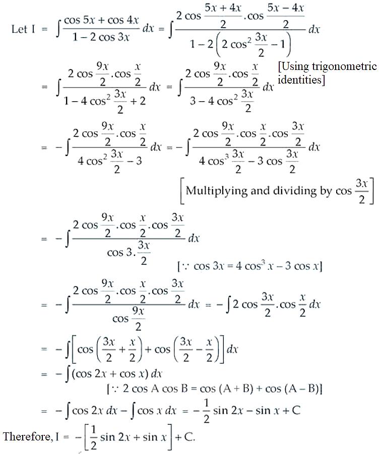 NCERT Exemplar Solutions Class 12 Mathematics Chapter 7 - 52