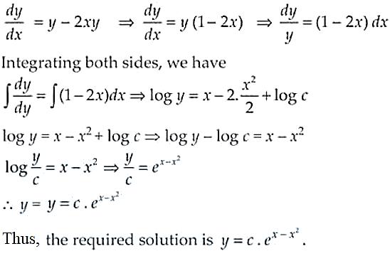 NCERT Exemplar Solutions Class 12 Mathematics Chapter 9 - 10