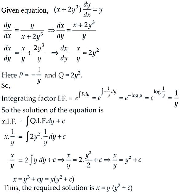 NCERT Exemplar Solutions Class 12 Mathematics Chapter 9 - 17