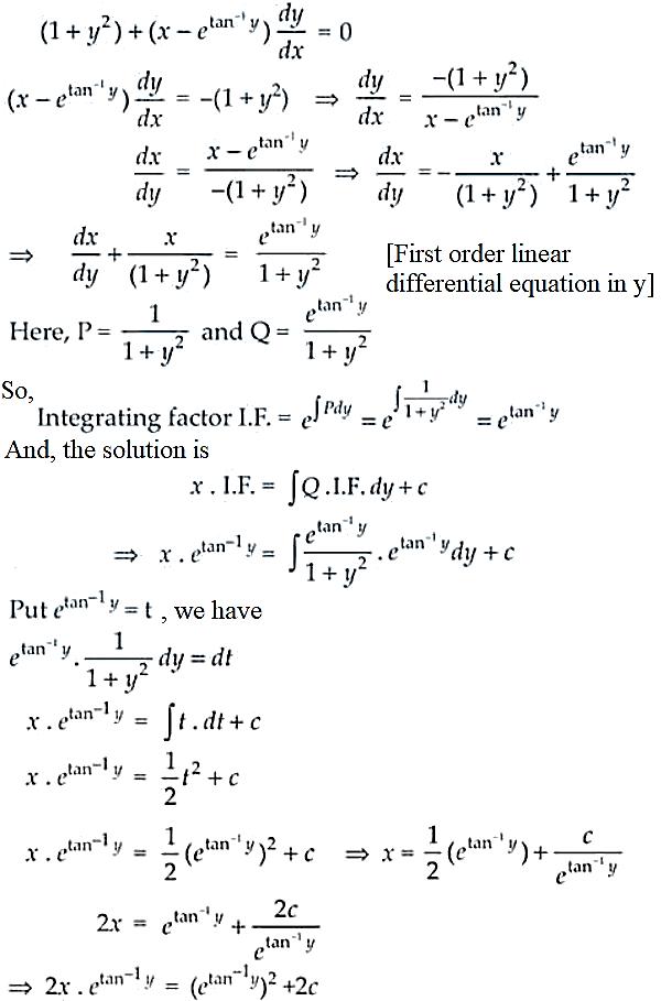 NCERT Exemplar Solutions Class 12 Mathematics Chapter 9 - 32