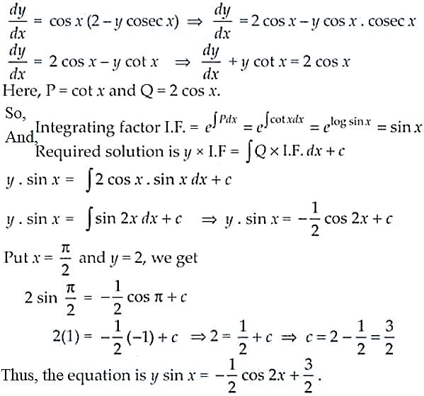 NCERT Exemplar Solutions Class 12 Mathematics Chapter 9 - 39