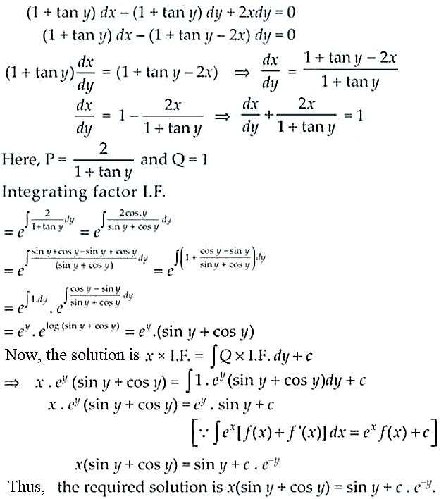 NCERT Exemplar Solutions Class 12 Mathematics Chapter 9 - 48