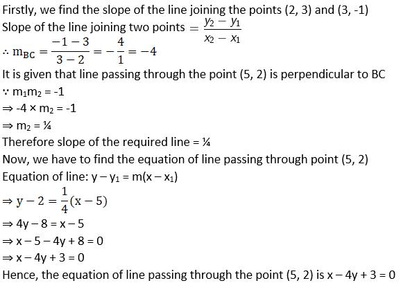 NCERT Exemplar Solutions for Class 11 Maths Chapter 10 - Image 2