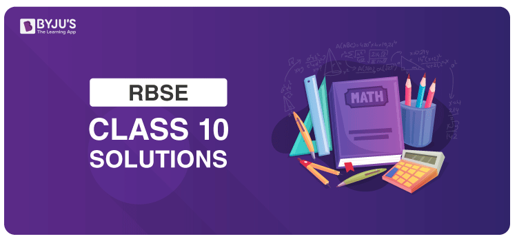 RBSE Class 10 Solutions