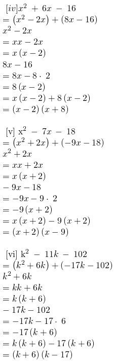 RBSE Class 8 Maths Solutions Chapter 10 Exercise 10.2 Question Number 3: Answers : Subparts 4 to 6