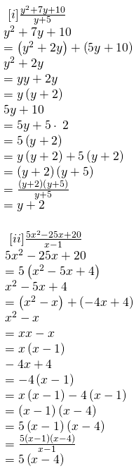 RBSE Class 8 Maths Solutions Chapter 10 Exercise 10.3 Question Number 4: Answers : Subparts 1 and 2