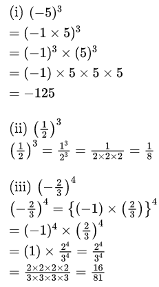 RBSE Class 8 Maths Solutions Chapter 3 Question Number 2 : Answers