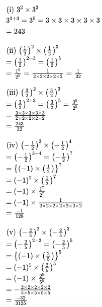 RBSE Class 8 Maths Solutions Chapter 3 Question Number 4 : Answers
