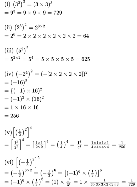 RBSE Class 8 Maths Solutions Chapter 3 Question Number 6 : Answers