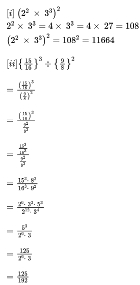 RBSE Class 8 Maths Solutions Chapter 3 Question Number 9 : Answers 1 & 2