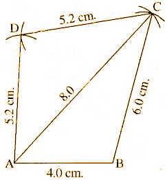 RBSE Class 8 Maths Solutions Chapter 7 Exercise 7.1 Question Number 1
