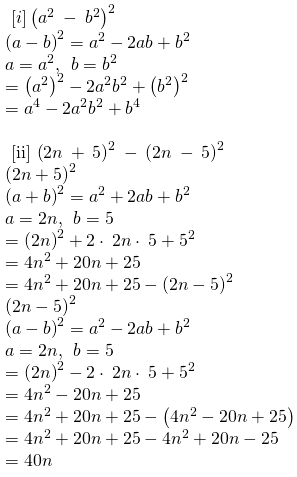 RBSE Class 8 Maths Solutions Chapter 9 Exercise 9.3 Question Number 4 : Answers