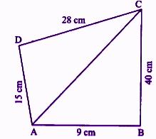 RBSE class 9 maths chapter 11 imp que 11 sol