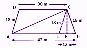 RBSE class 9 maths chapter 11 imp que 18 sol