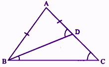 RBSE Class 9 Maths chapter 7 important Q25 solution