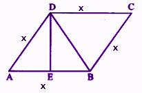 RBSE class 9 maths chapter 9 imp que 14 sol