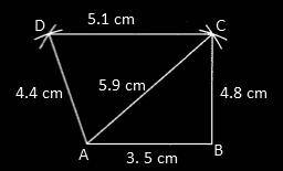 RBSE class 9 maths chapter 9 imp que 21 sol