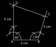RBSE class 9 maths chapter 9 imp que 24 sol