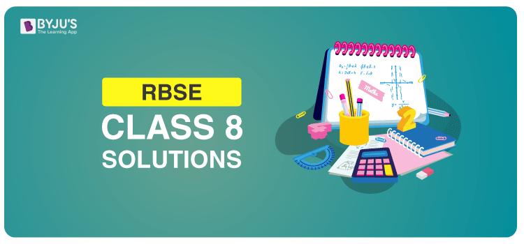 RBSE Solution For Class 8