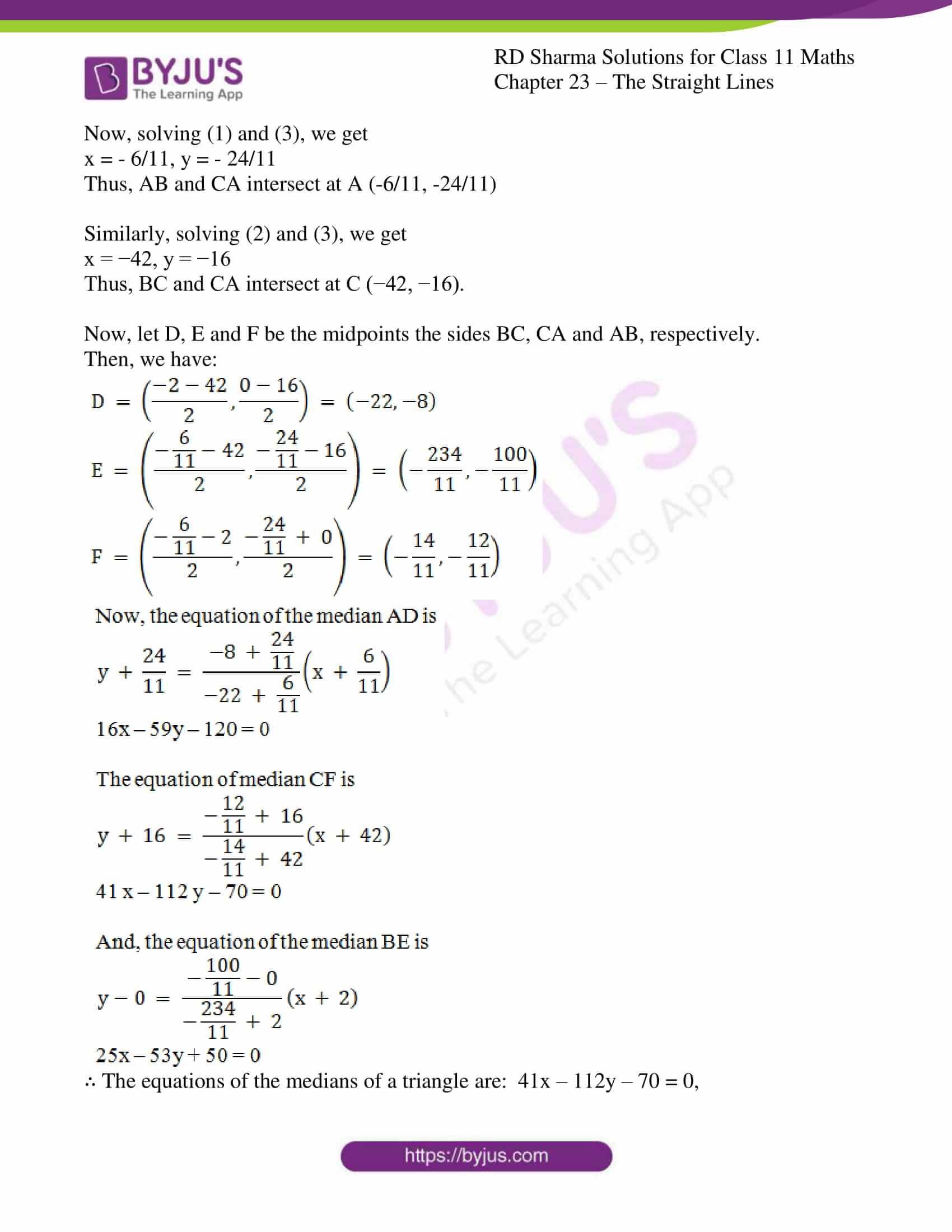 rd sharma class 11 maths chapter 23 ex 10 5