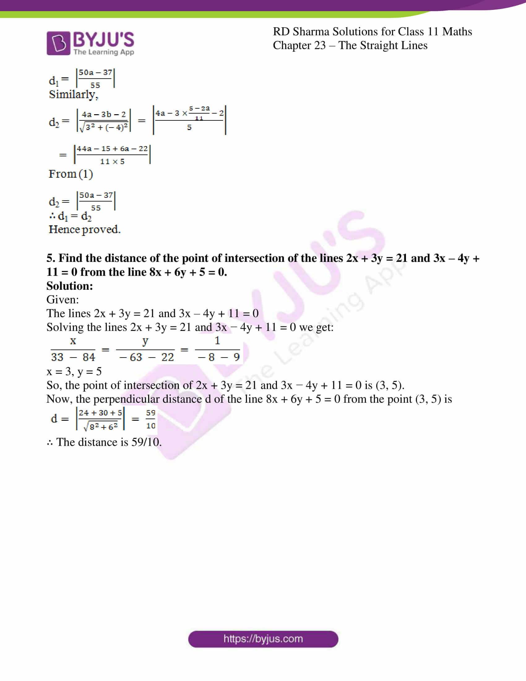 rd sharma class 11 maths chapter 23 ex 15 4