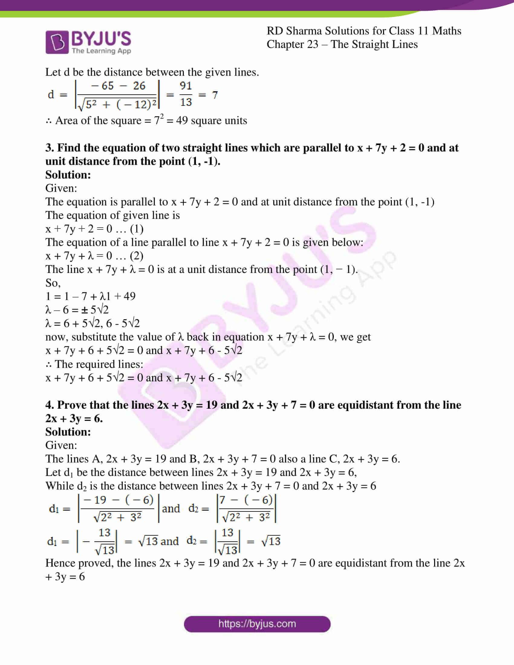 rd sharma class 11 maths chapter 23 ex 16 2