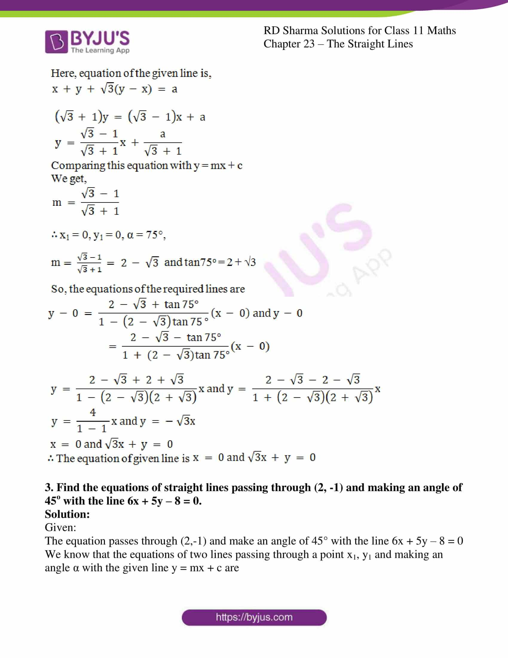 rd sharma class 11 maths chapter 23 ex 18 2