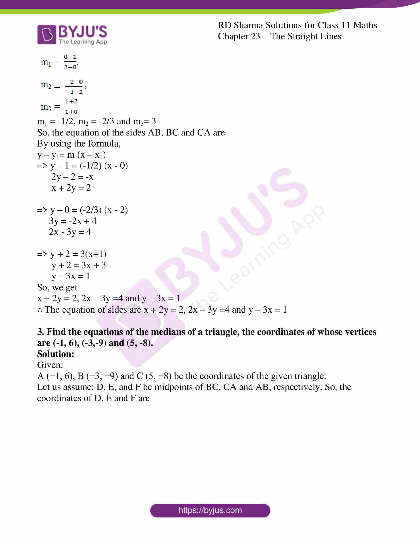 rd sharma class 11 maths chapter 23 ex 5 3