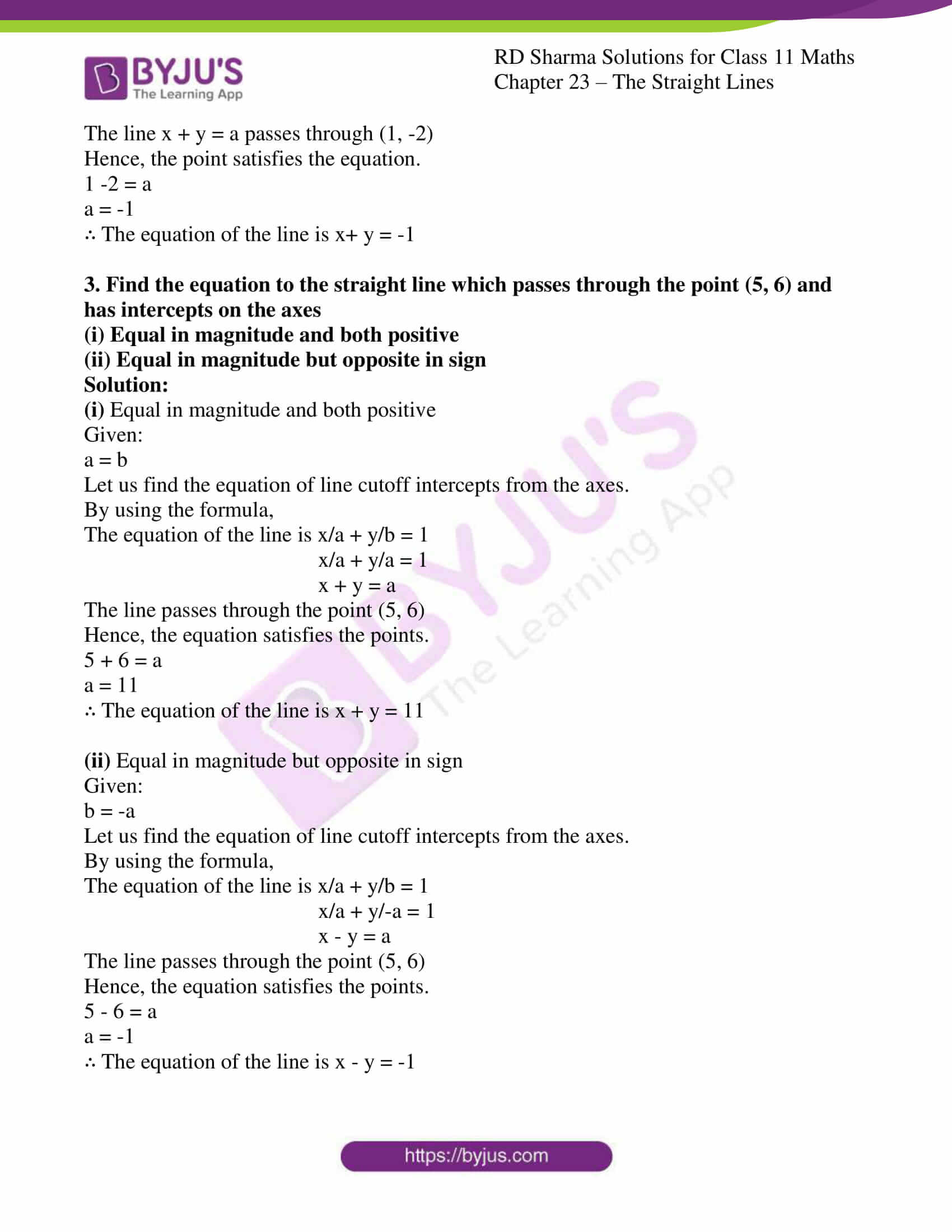 rd sharma class 11 maths chapter 23 ex 6 2