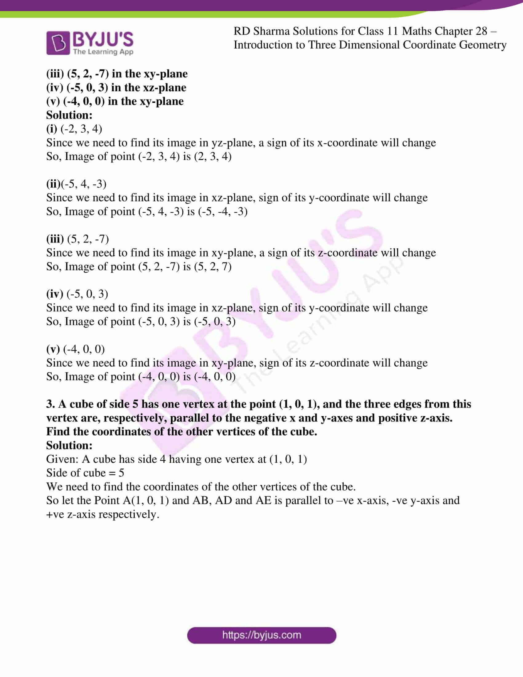 rd sharma class 11 maths chapter 28 ex 1 2