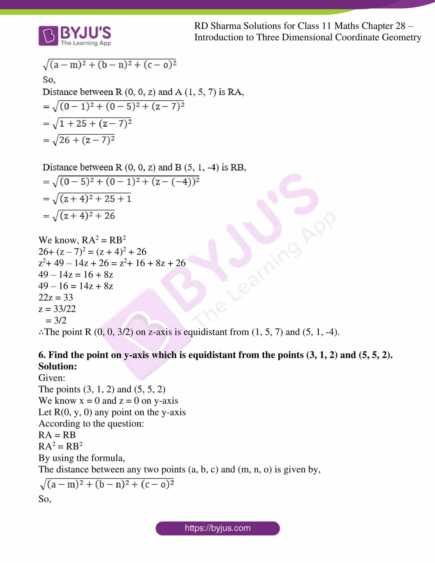 rd sharma class 11 maths chapter 28 ex 2 11
