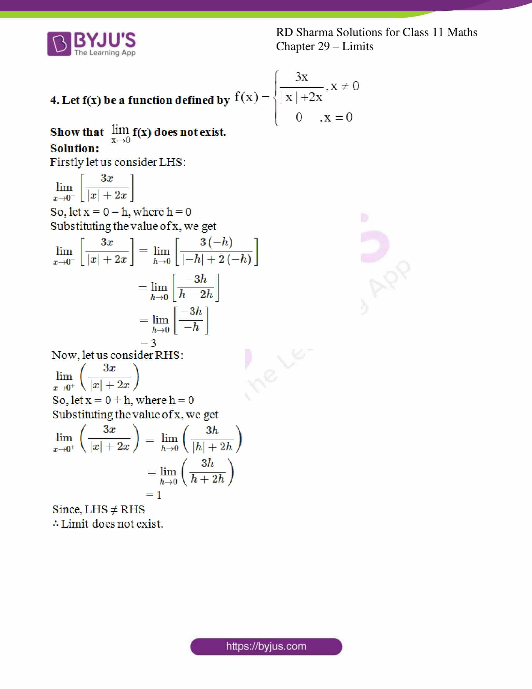 rd sharma class 11 maths chapter 29 ex 1 3