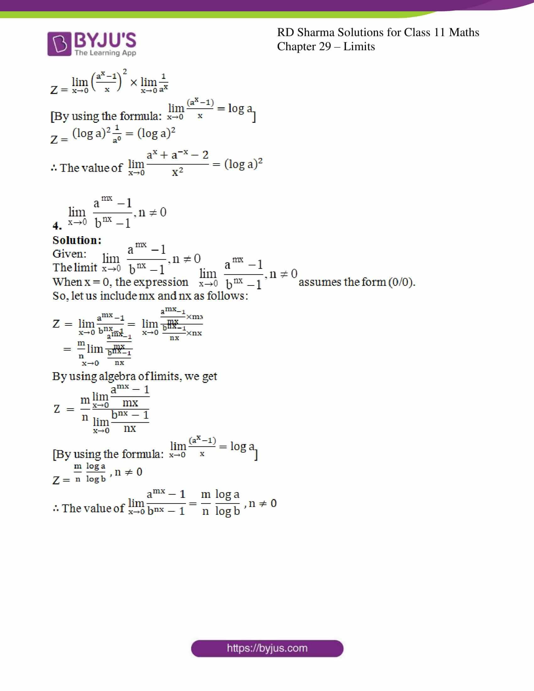 rd sharma class 11 maths chapter 29 ex 10 3
