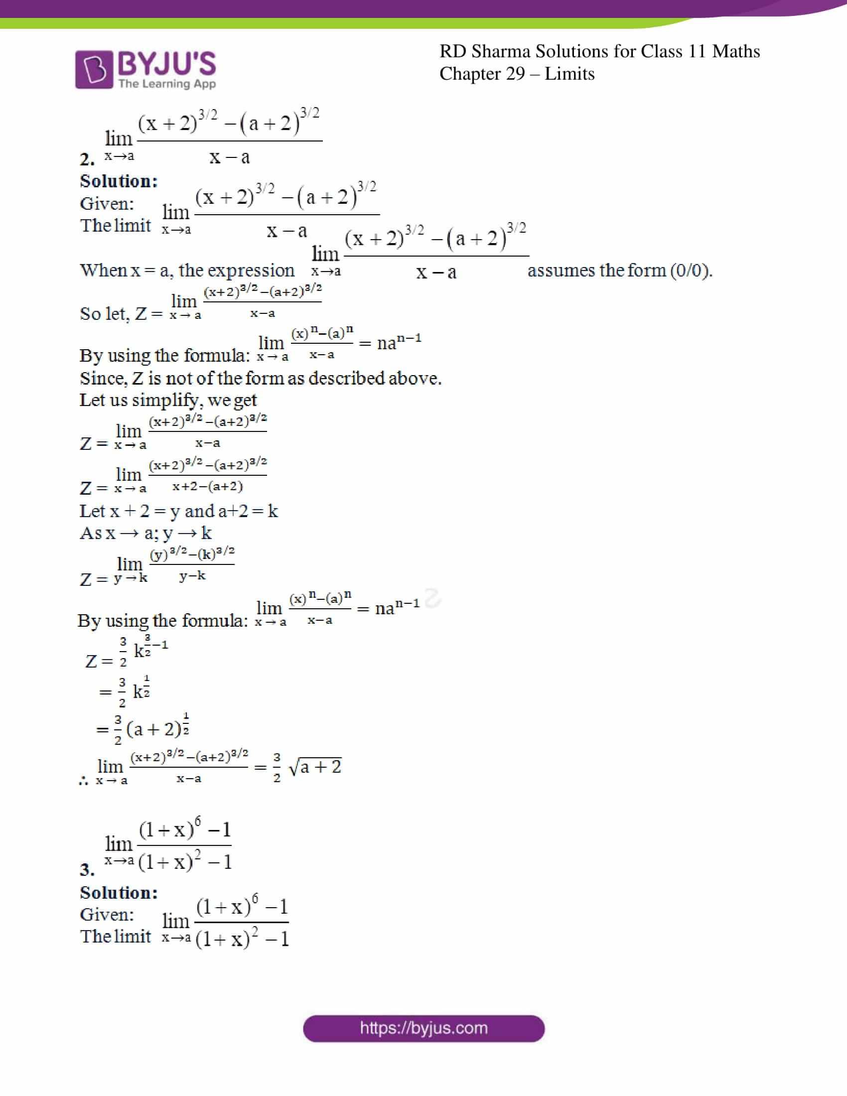 rd sharma class 11 maths chapter 29 ex 5 2