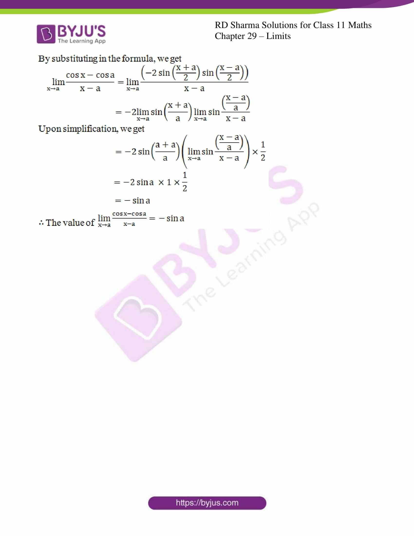 rd sharma class 11 maths chapter 29 ex 8 4