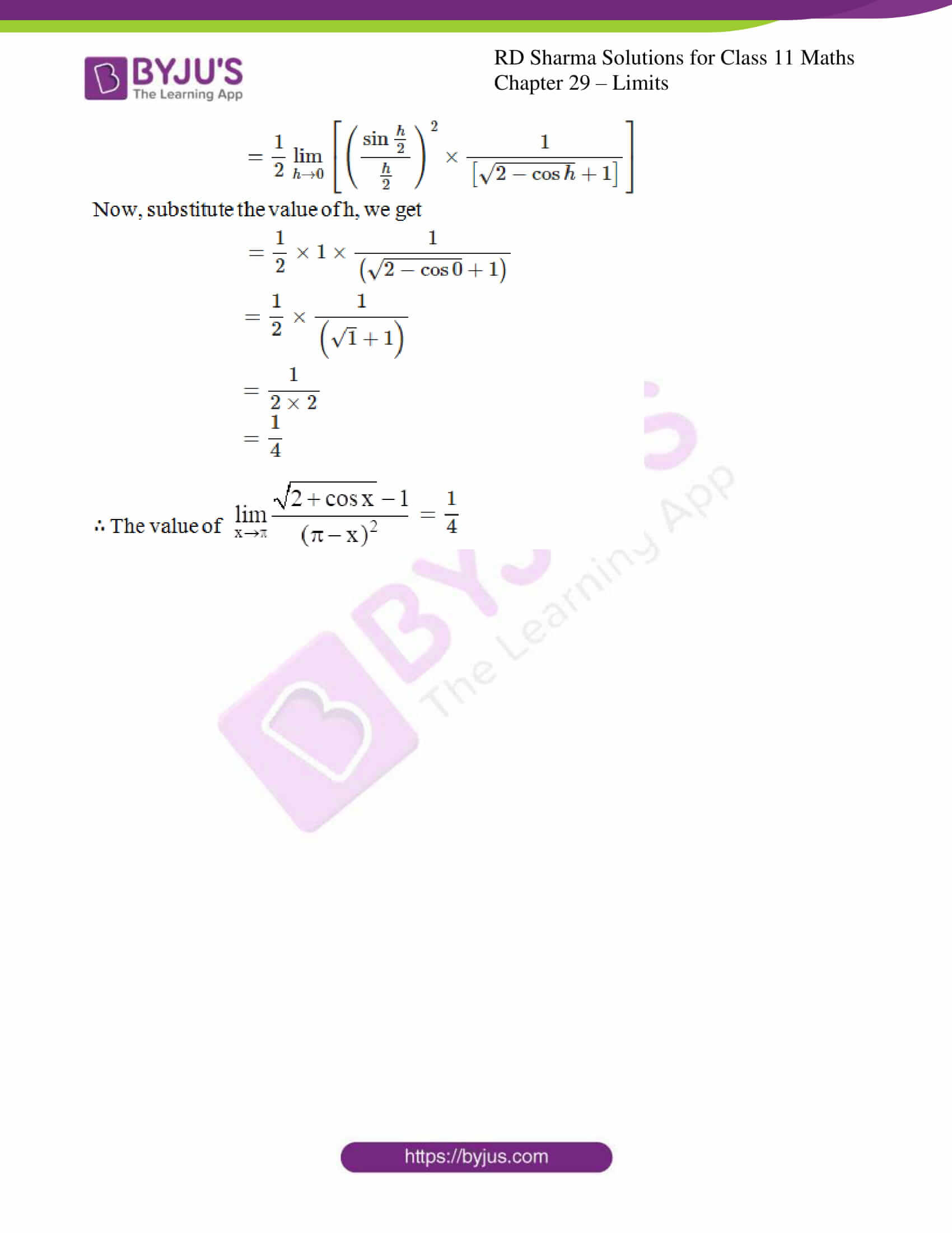 rd sharma class 11 maths chapter 29 ex 9 5