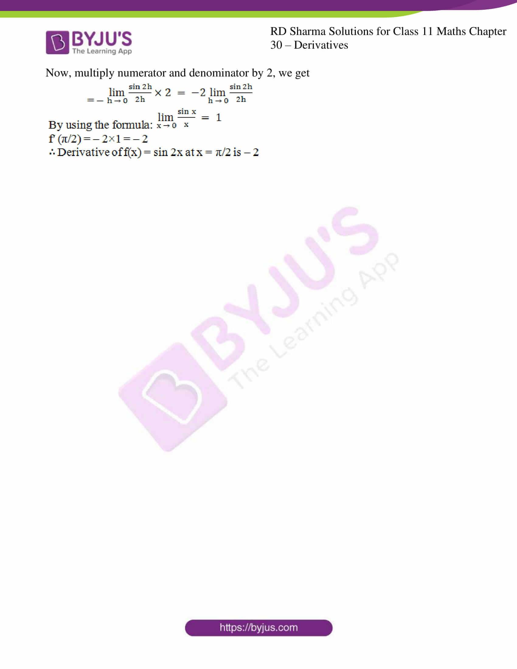 rd sharma class 11 maths chapter 30 ex 1 7