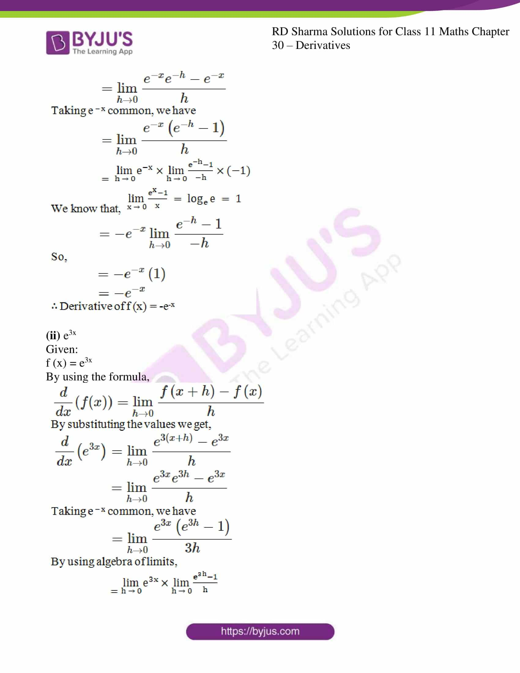 rd sharma class 11 maths chapter 30 ex 2 06