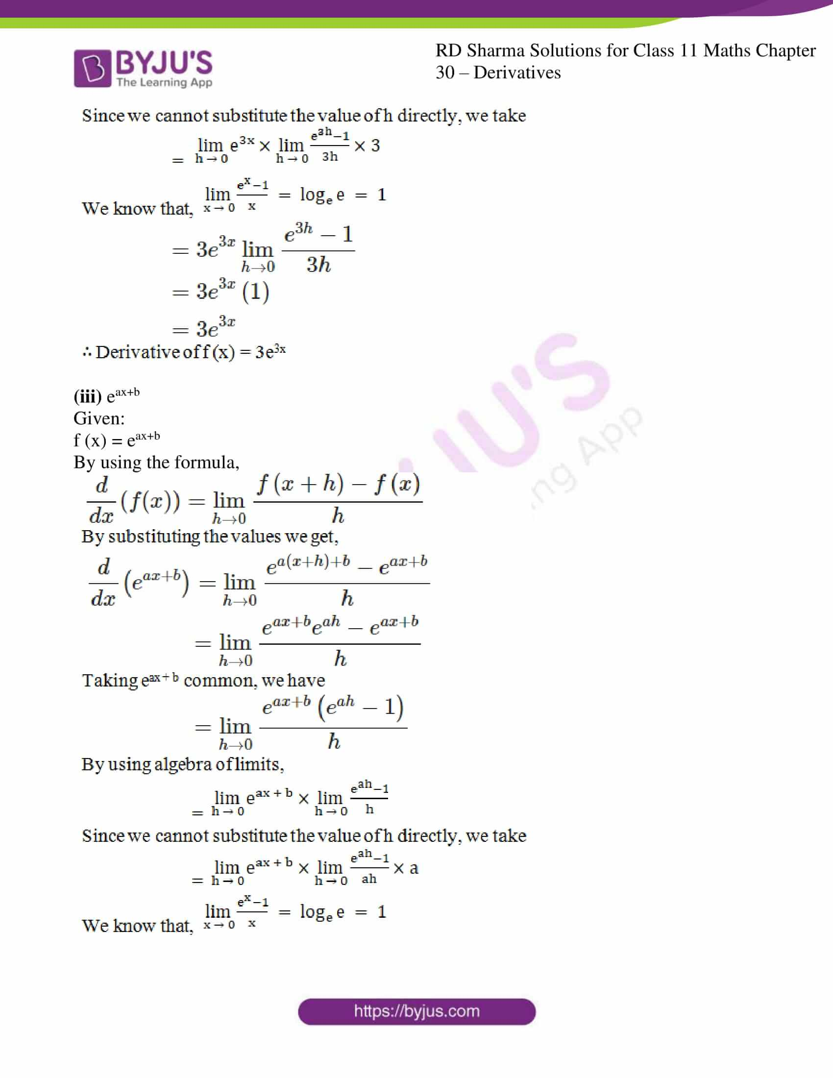 rd sharma class 11 maths chapter 30 ex 2 07