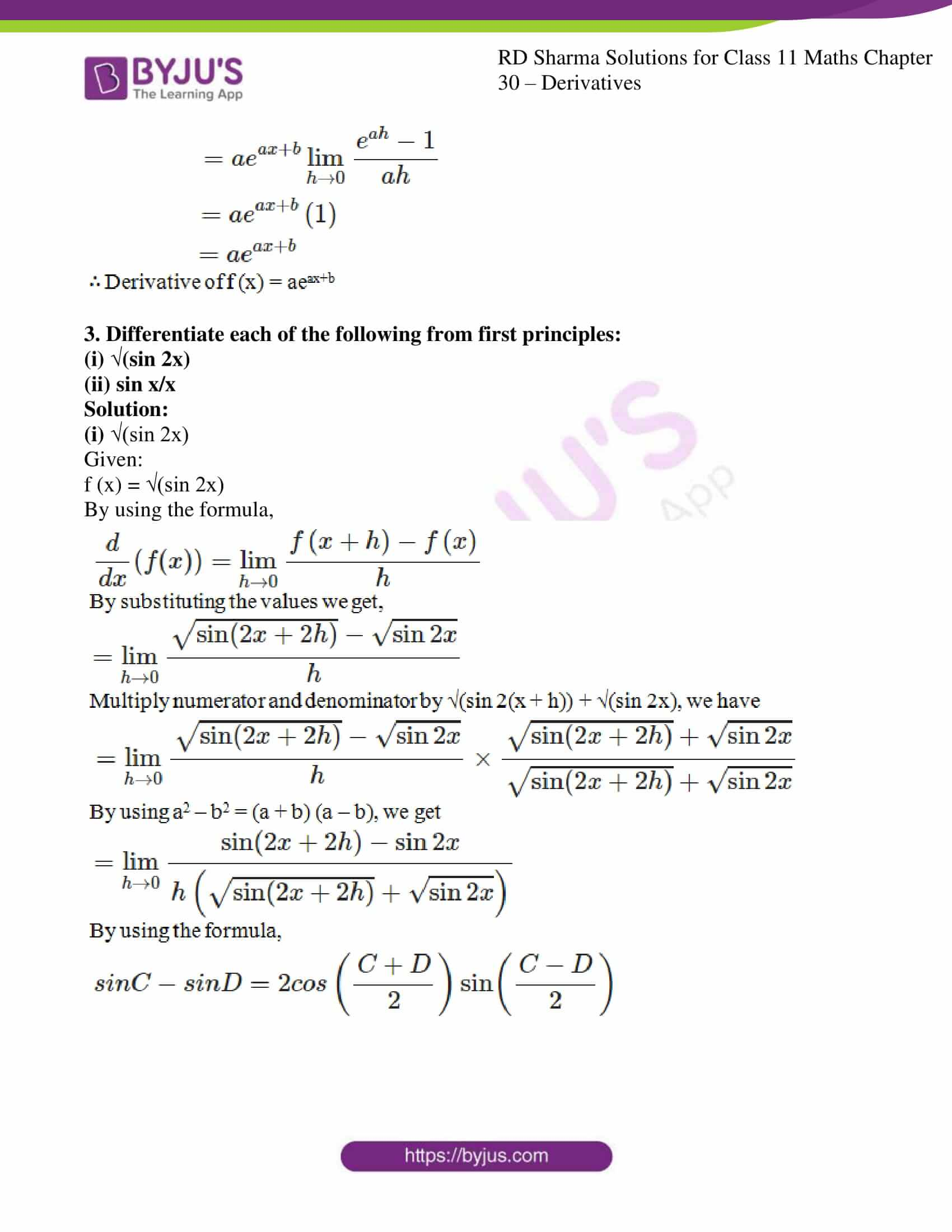 rd sharma class 11 maths chapter 30 ex 2 08