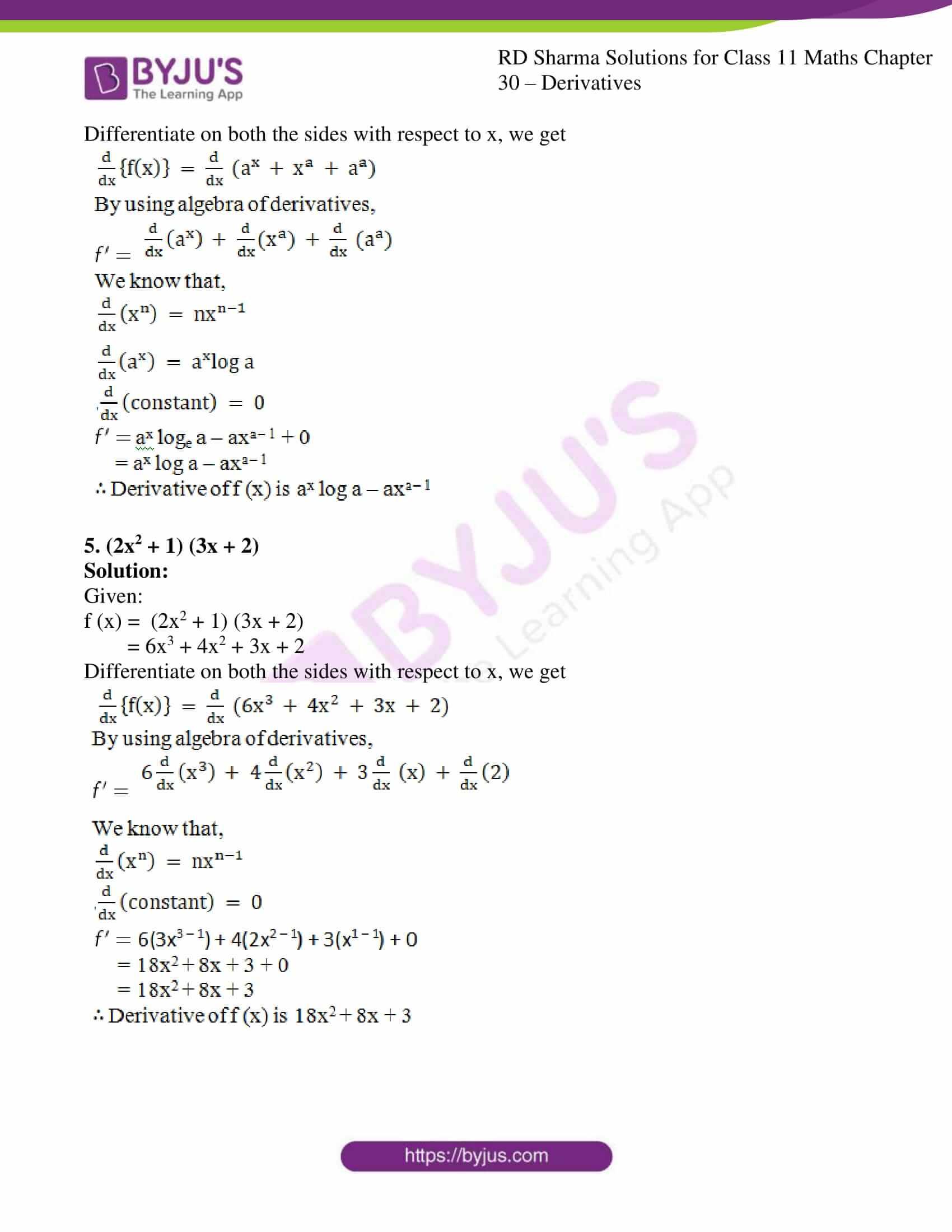 rd sharma class 11 maths chapter 30 ex 3 3