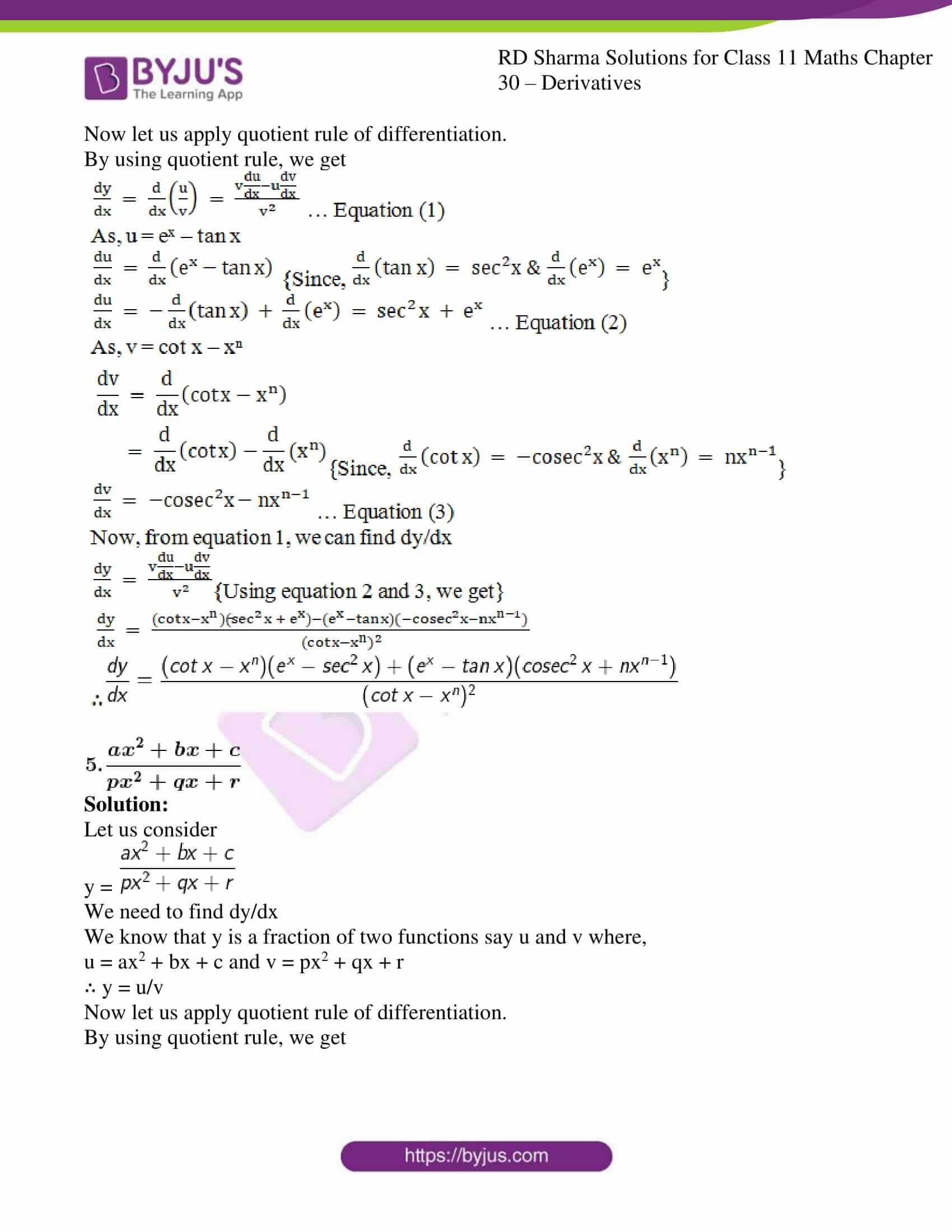 rd sharma class 11 maths chapter 30 ex 5 4
