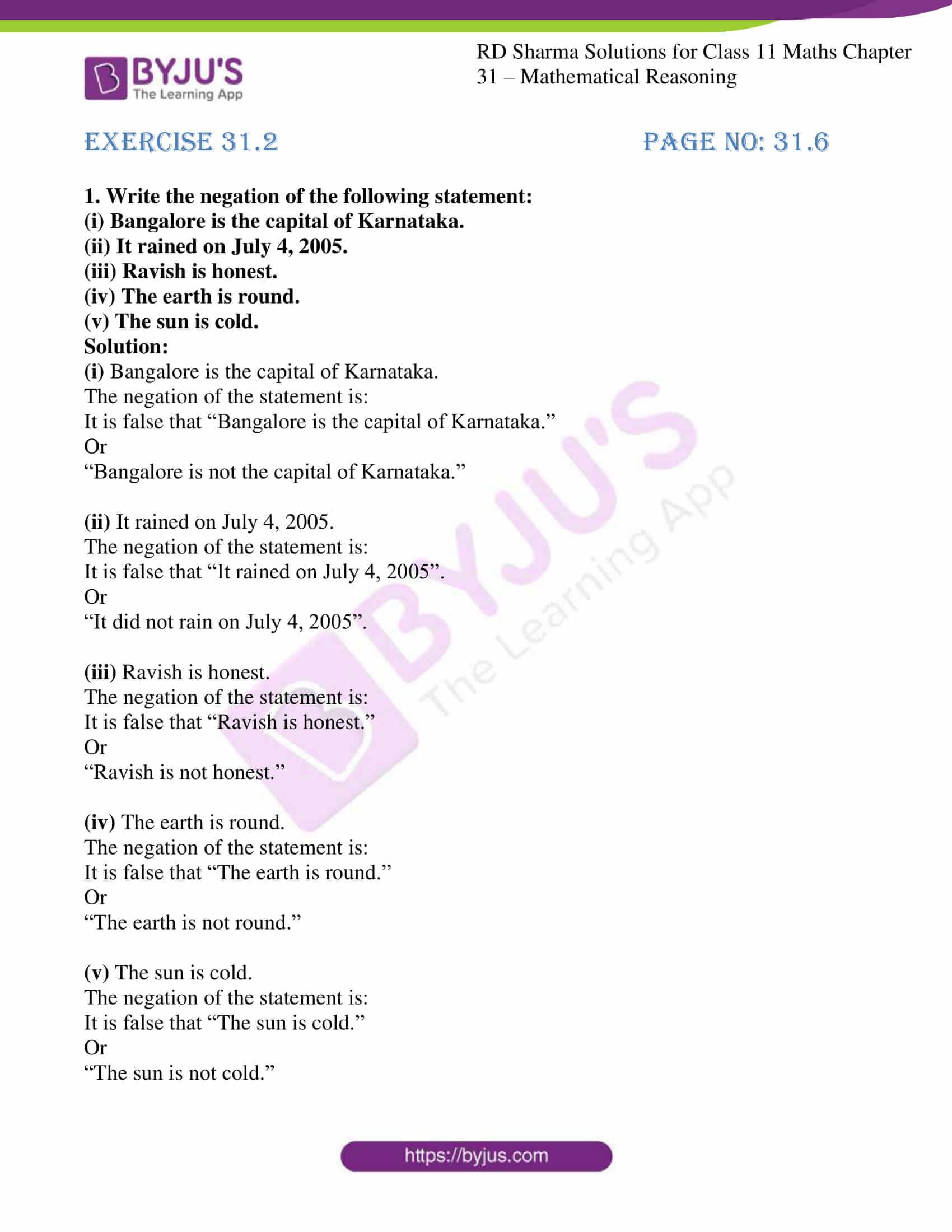 rd sharma class 11 maths chapter 31 ex 2 1