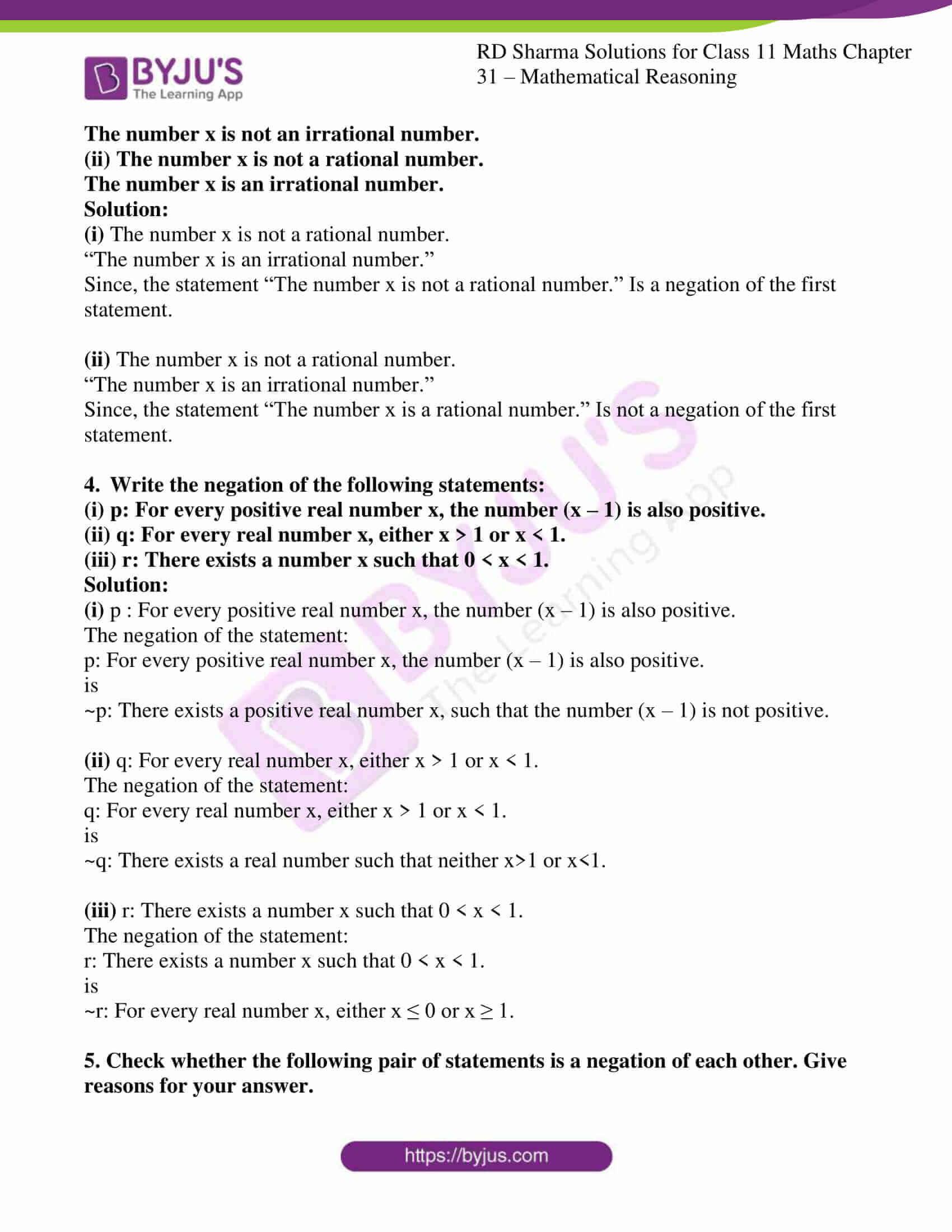 rd sharma class 11 maths chapter 31 ex 2 3