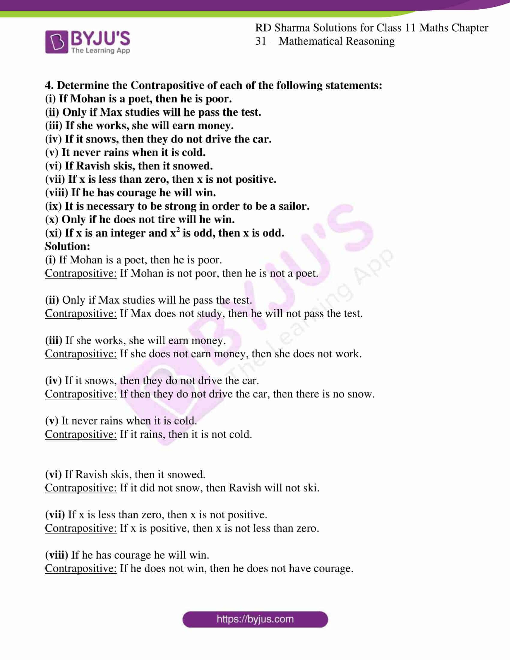 rd sharma class 11 maths chapter 31 ex 5 3