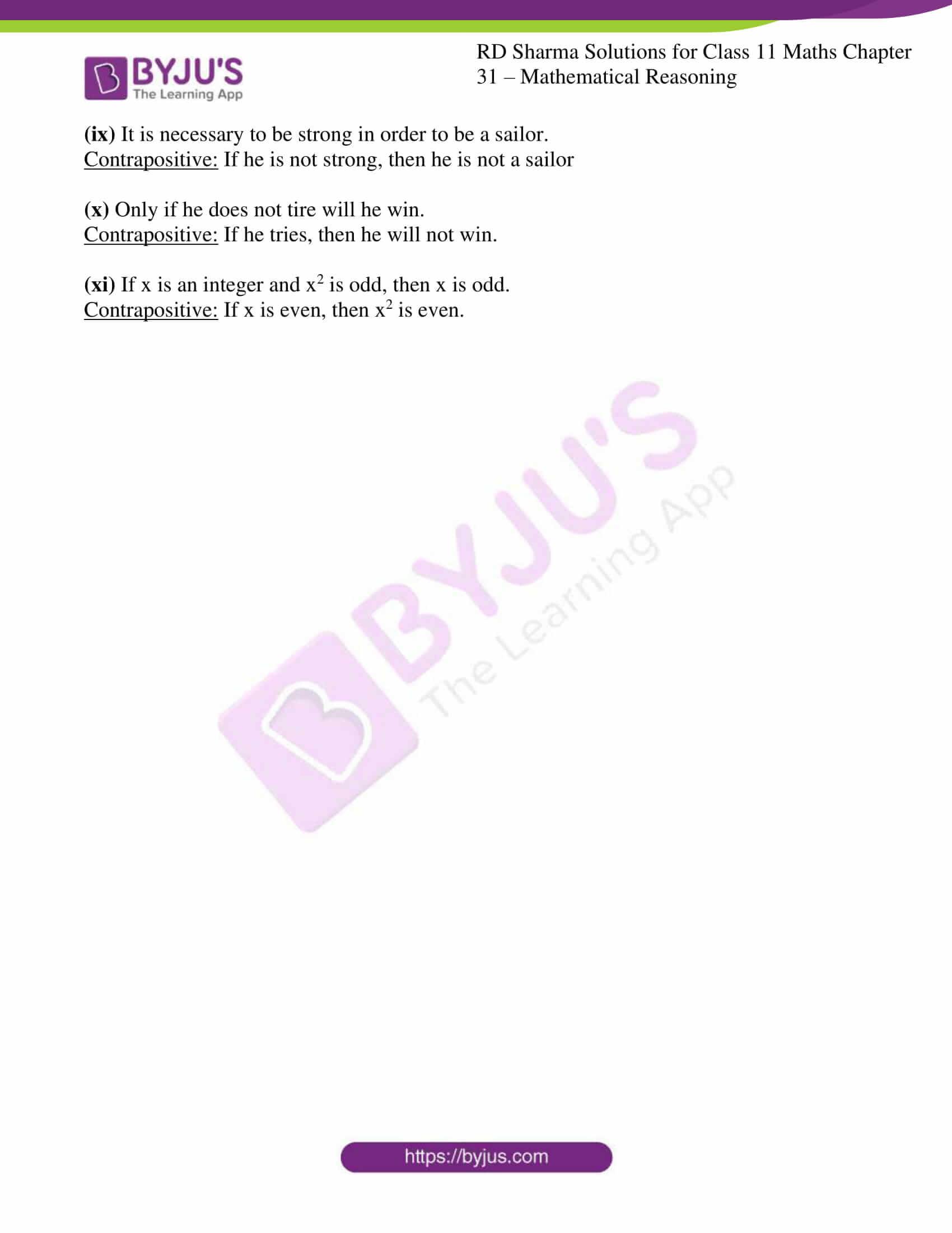rd sharma class 11 maths chapter 31 ex 5 4