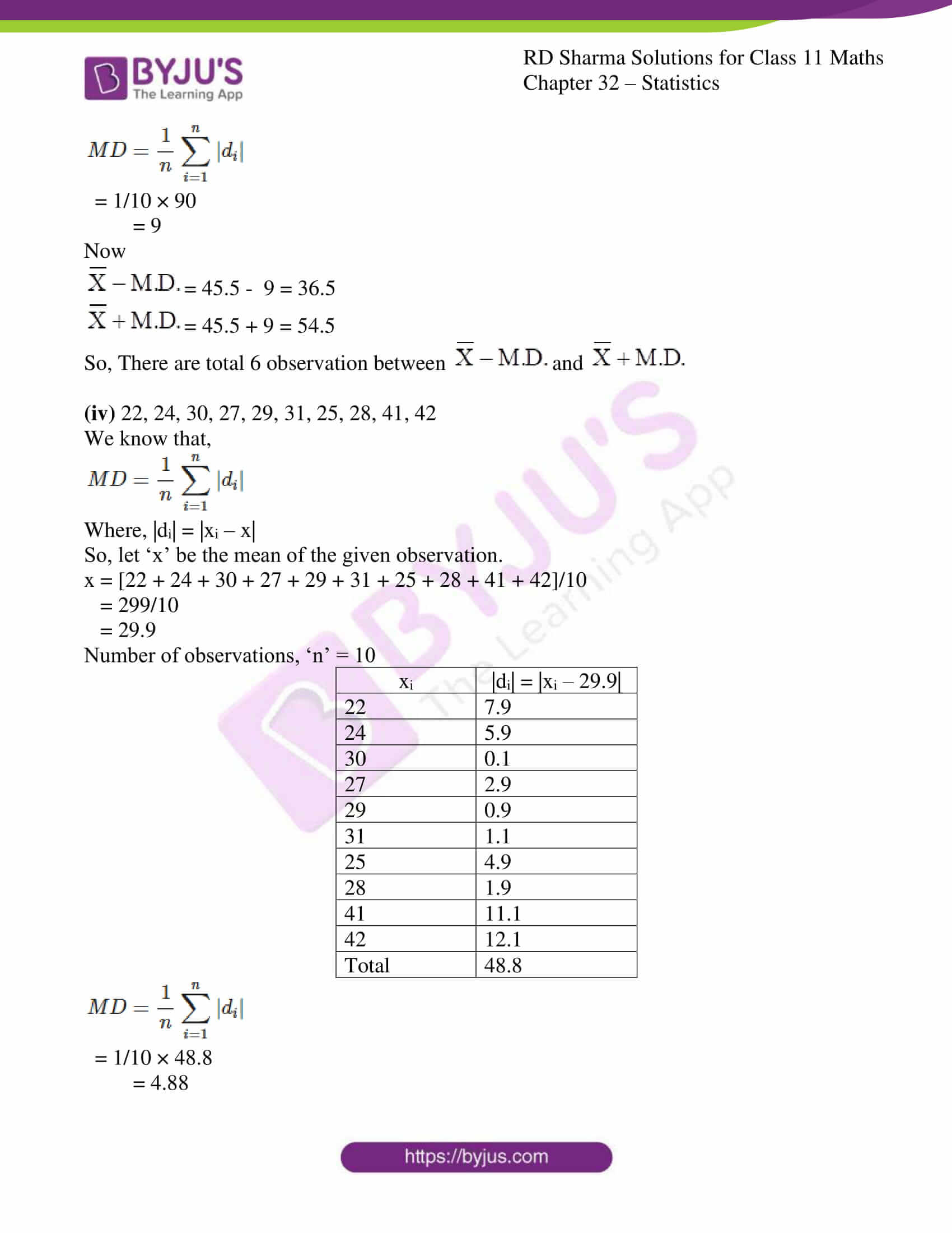 rd sharma class 11 maths chapter 32 ex 1 13