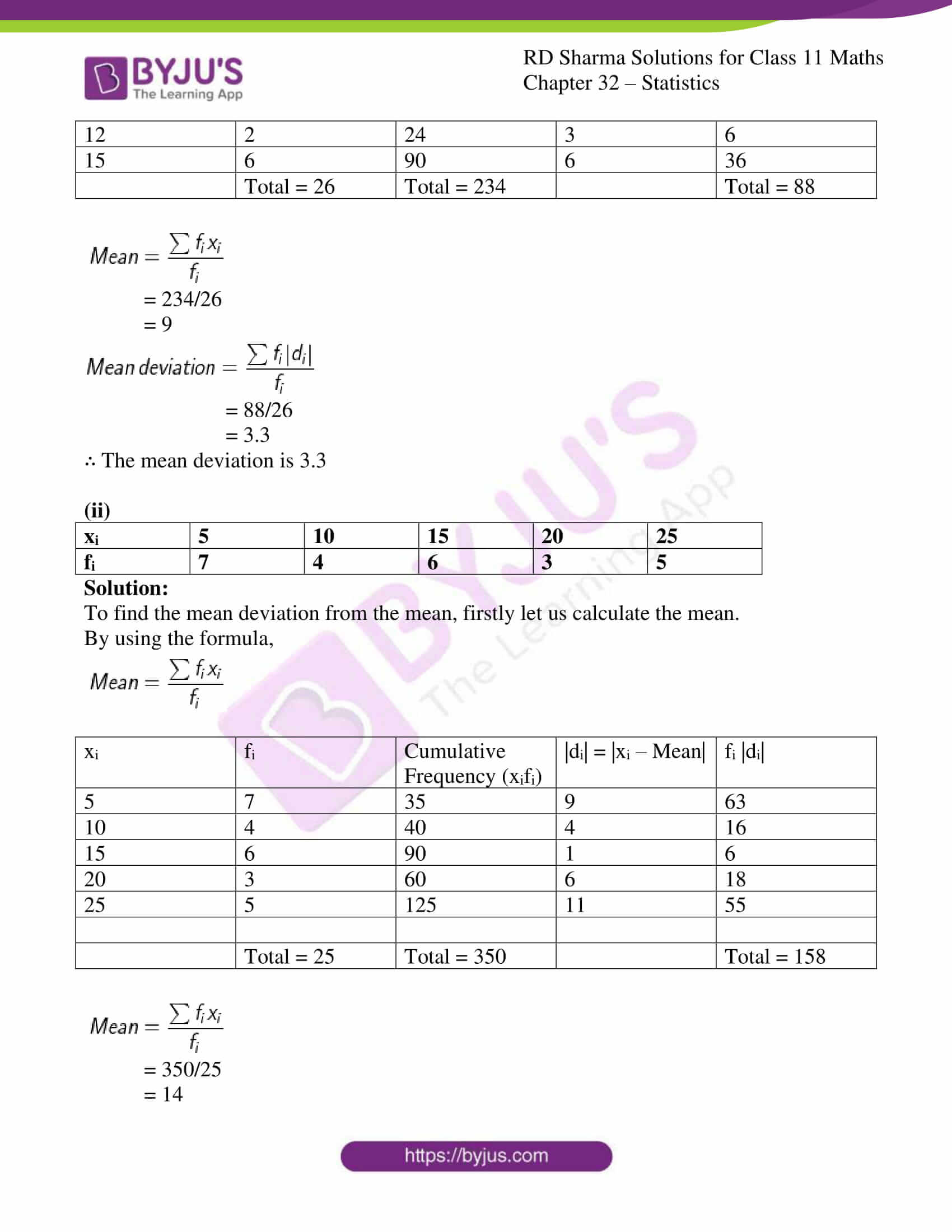 rd sharma class 11 maths chapter 32 ex 2 4