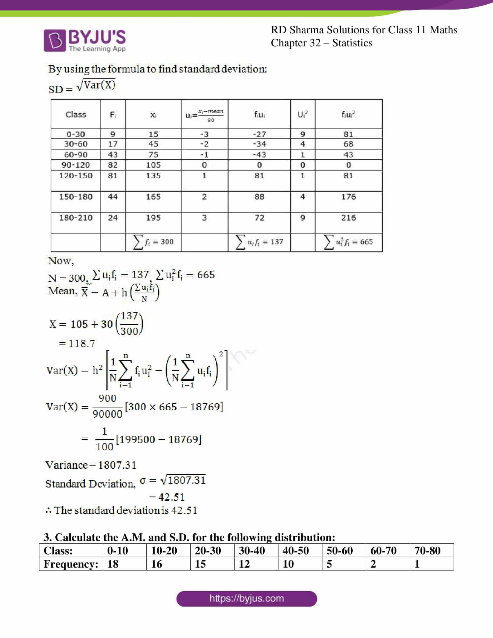 rd sharma class 11 maths chapter 32 ex 6 2